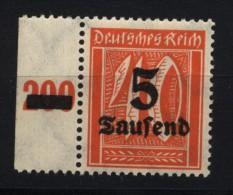 D.R.277,links Dgz Xx (4490 ) - Unused Stamps