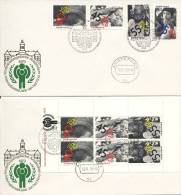 Damenveloppen Kinderpostzegelactie 1979 - Blanco / Open Klep - FDC