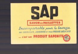 Savon En Paillettes . SAP . - Buvards, Protège-cahiers Illustrés