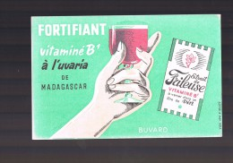 Fortifiant .Vitamine B1 à L'UVARIA De Madagascar . - Buvards, Protège-cahiers Illustrés