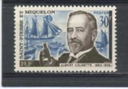 SPM: ALBERT CALMETTE - N° Yvert 368* - Unused Stamps