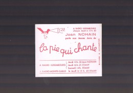 JEAN - NOHAIN . La Pie Qui Chante . - Papel Secante