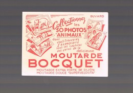 Moutarde BOCQUET . - Mostard