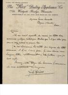 """Entête 10/03/1922  -  GLOUCESTER  -  J.A.  COSSE  The  """" REX """"  Poultry  Appliance Co. - Royaume-Uni"""