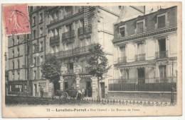 92 - LEVALLOIS-PERRET - Rue Gravel - Le Bureau De Poste - Lhuillier 73 - 1905 - Levallois Perret