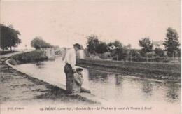 HERIC (LOIRE INF) 19 BOUT DE BOIS . LE PONT SUR LE CANAL DE NANTES A BREST - Frankreich