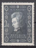 Austria    Scott No. 609   Mnh  Year  1956 - 1945-60 Neufs