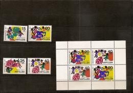 ANTILLES NEERLANDAISES / NEDERLANDSE ANTILLEN  **1977  (ref 982 ) - Curaçao, Antilles Neérlandaises, Aruba