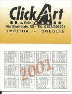 CAL681 - CALENDARIETTO 2001 - CLICK ART - IMPERIA - Calendriers