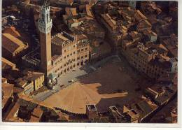 SIENA - Piazza del Campo - veduta aerea