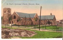 St. Paul's Episcopal Church, Holyoke, Massachusetts  Crease Top Left Corner - United States