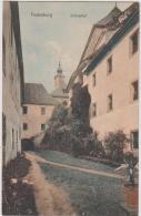 AK - Festenburg Schlosshof 1917 - Feldpost - Wechsel