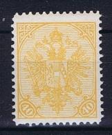 Österreichisch- Bosnien Und Herzegowina Mi. 19  Orangegelb MH/* - 1850-1918 Imperium