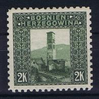 �sterreichisch- Bosnien und Herzegowina Mi 43 C perfo 9,25, MH/*