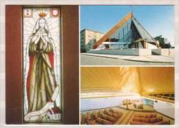 Praha , Kostel Neposkvrneneho Poceti Panny Marie ( Vitraz Svata Anezka Ceska Od Joroslavy Fenzlove ) - Kirchen U. Kathedralen