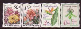 Czechoslovakia - Flowers 1980 MNH - Czechoslovakia