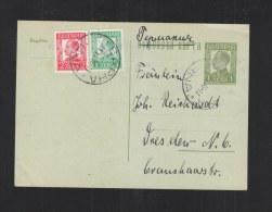 Bulgaria Stationery 1936 Uprated To Germany - 1909-45 Königreich