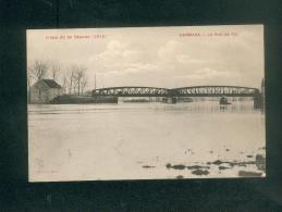 Crue De La Marne - Dormans (51) - Pont De Try ( Correspondance De Batelier éditeur Peu Lisible) - Dormans