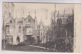 CPA NEW YORK CITY, GRACE CHURCH RECTORYen 1915 (voir Timbre) - Églises