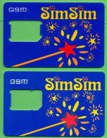 Azerbaijan GSM Prepaid - Azercell SIMSIM - 2x GSM SIM Hole Card / Like New / - Azerbaïjan