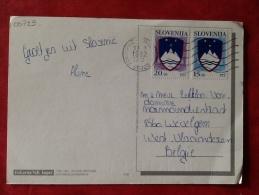 Slovenia Piran -> Belgium 1992 - Slovenië