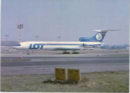 Thème -  Avion - Polish Airlines LOT - Tupolev 154M Medium/long - 1946-....: Moderne