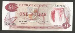 [NC] GUYANA - BANK Of GUYANA - 1 DOLLAR - Guyana