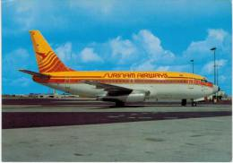 Thème -  Avion - Michel Moskal Postcards 55 - Surinam Airways Boeing 737 2L9 - 1946-....: Moderne
