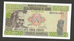 [NC] Guinée - BANQUE CENTRALE De La REPUBLIQUE De Guinée - 500 FRANCS (1985) - Guinea
