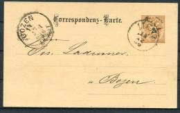Austria Lienz Private Correspondenz Karte - Bozen - Stamped Stationery