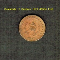 GUATAMALA   1  CENTAVO  1972  (KM # 273) - Guatemala
