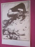 Dessin Caricaturiste-Satirique Humour Anglais Propagande Antiallem Guerre 14-18 Illustré C. Simpson-Send Him Victorious - 1914-18