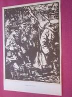 Dessin Caricaturiste-Satirique Humour Anglais Propagande Antiallem Guerre 39-45 Illustré C. Simpson-Happy And Glorious P - 1914-18