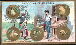 CHROMO FELIX POTIN - LE POIRIE - Félix Potin