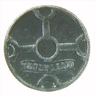 OLANDA NEDERLAND 1 CENT 1943 ZINC - 1 Cent
