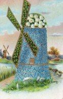 Illustrée : Moulin Aux Myosotis , Muguet Et Trèfles à Quatre Feuilles - Botanik