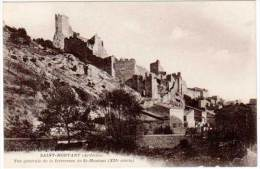 Saint Montant - Vue Générale De La Forteresse ... - France