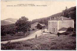 Saint Michel De Chabrillanoux - Aliandre - Mairie Et Ecoles (asi-12837) - France