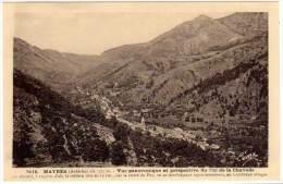 Mayres - Vue Panoramique ... Col De La Chavade - France