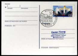 87875) BRD - Michel 1419 - FDC-Karte - 800 Jahre Hamburger Hafen - Wert: 1,50 Mi€ - [7] Federal Republic