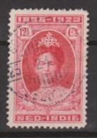 Nederlands Indie Netherlands Indies Dutch Indies 161 Used ; Koningin Queen, Reine Reina Wilhelmina CANCEL SOERABAJA 1923 - Niederländisch-Indien
