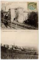 Chassiers - Château De Mothe / L'église - France