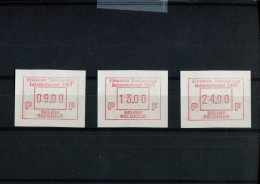 BELGIE POSTFRIS MINT NEVER HINGED POSTFRISCH EINWANDFREI MICHEL AUTOMAAT  7.2.B.S1 - Franking Machines