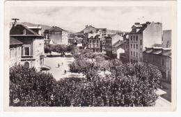 ANNEMASSE 74    Place De La Mairie En 1952 Siréne Banque Socièté Générale Pub Campari Commerces & Maisons Prés Mairie - Annemasse