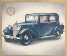 Garbaty Cigarette Card Cars Of Today No 81 Mercedes Benz MB 200