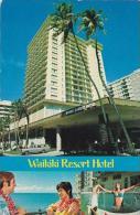 Hawaii Honolulu The Waikiki Resort Hoteol Hawaiis 1971 - Honolulu