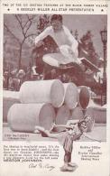 Ice Skating Beekley Miller All Stars Red McCarthy Jumping Barrels 1934 Chicago - Cartes Postales
