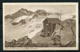 """S/w  PK Österreich,Austria Rojacherhütte,b.Salzburg Um 1928 """" Rojacherhütte Am Hohen Sonnblick,belebt"""" 1 AK Used,bef. - Ohne Zuordnung"""