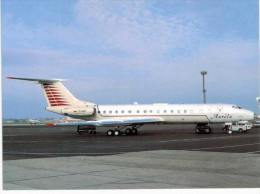 Thème -  Avion - OKC  A190 - AUrela TU 134A  - Prague 1996 - 1946-....: Moderne