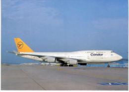 Thème -  Avion - OKC  A222 - Condor B747 430 - Frankfurt 1994 - 1946-....: Moderne